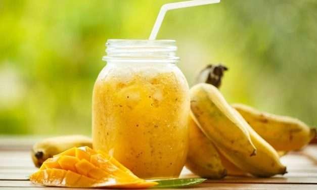 [Recipe] Super-Speedy Tropical Breakfast Smoothie