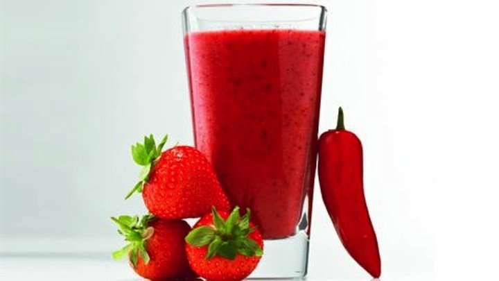 Recipe Hot Peppers For A Cool Strawberry Chili Smoothie