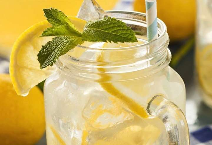 how to make lemon water for skin