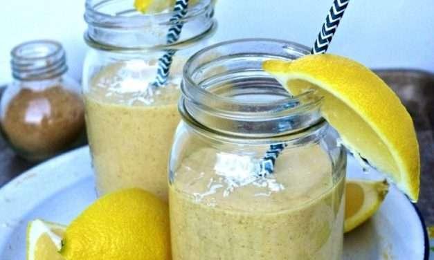 [RECIPE] Detox Smoothie – Fresh Lemon, Ginger