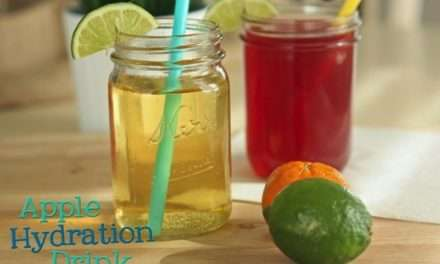 [RECIPE] 100% Natural Hydration Drink for Sporty Kids