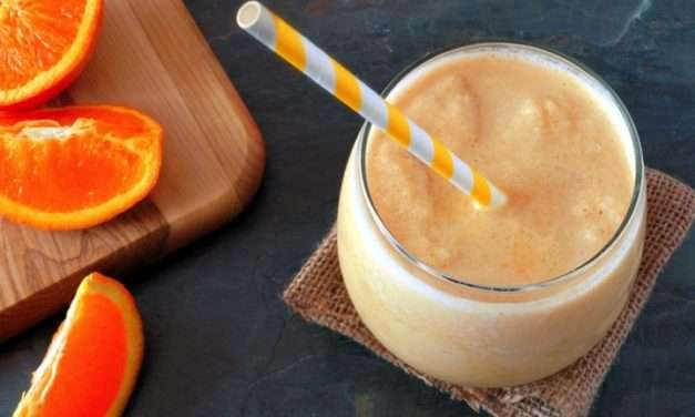 [RECIPE] Orange Cream Smoothie