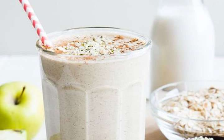 [Recipe] Switch It Up Overnight Apple Cinnamon Oatmeal Smoothie