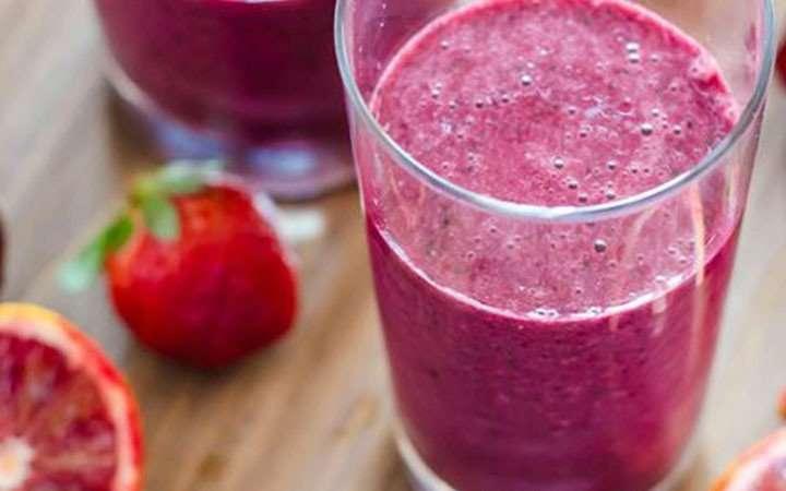 [Recipe] Deb's Blood Orange, Strawberry and Vanilla Smoothie