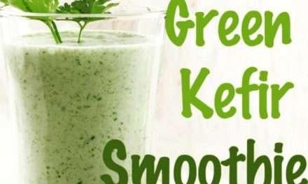 [Recipe] Digestion Strengthening Kefir Green Smoothie