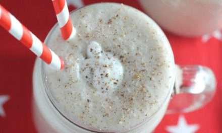 [Recipe] Dairy Free Banana Gingerbread Smoothie