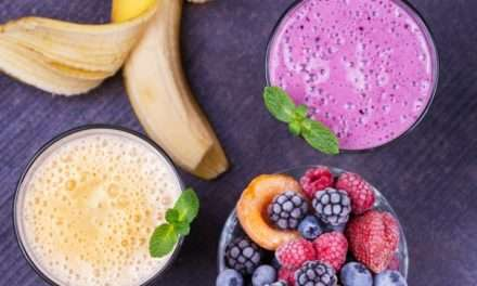 [Recipe] Low-Fat Banana-Berry Buttermilk Smoothie
