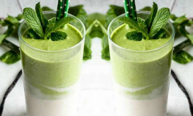 [Recipe] Chia Mint and Vanilla Green Smoothie