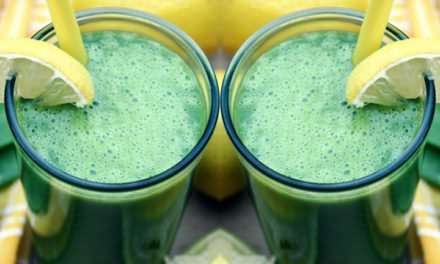 [Recipe] Spinach Pea and Pineapple Smoothie
