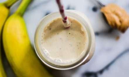 [Recipe] Ever-Popular Peanut Butter Banana Smoothie