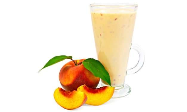 [Recipe] Simply Buttermilk and Nectarine Smoothie