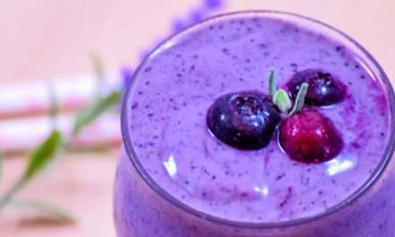 [Recipe] Stress-Reducing Lavender Smoothie
