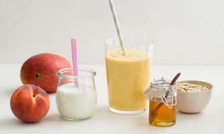 [Recipe] We-Got-No-Bananas Peach Smoothie