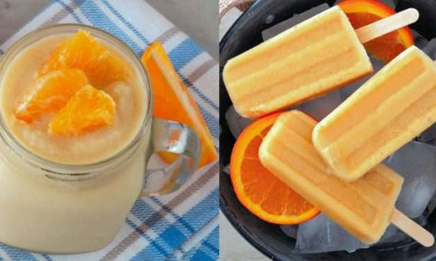 [Recipe] Low-Calorie Orange Smoothie Makes Cool Popsicles