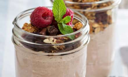 [Recipe]: Variation on a Classic: Chocolate Raspberry and Coconut Meal-Replacement Smoothie