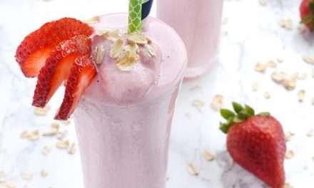 [Recipe] Strawberry Yogurt Smoothie Surprise