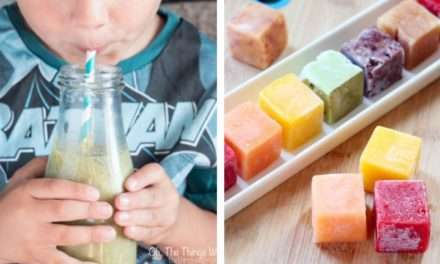 [Recipe] How to Freeze Your Fruit Glut and Tracy's Popeye Smoothie: Green Fruity and Probiotic