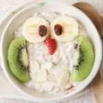 [Recipe] Kids' Chocolate PB & J Celebration Owl Smoothie Bowl
