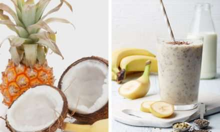 [Recipe] Banana Pineapple Hemp Smoothie