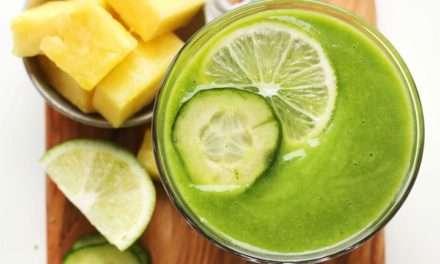 [Recipe] Refreshing Pineapple Cucumber Smoothie
