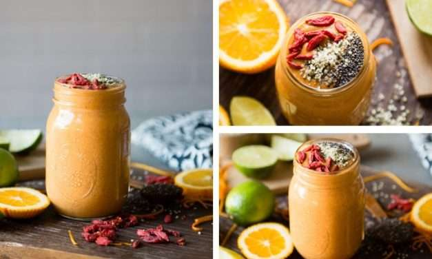 [Recipe] Goji Berries Protein Smoothie