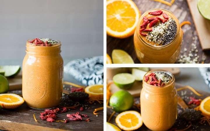 [Recipe] Goji Berries Protein Smoothie