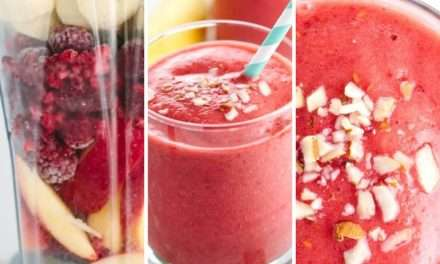 [Recipe] Apple Raspberry Smoothie
