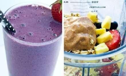 [Recipe] The Big Guy Berry Protein Smoothie Sans Banana