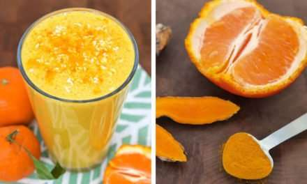 [Recipe] Coconut Clementine Sunshine Smoothie with Turmeric