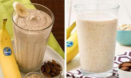 [Recipe] Banana Oatmeal Smoothie