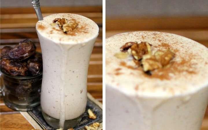 [Recipe] Probiotic Kefir Date Walnut Smoothie