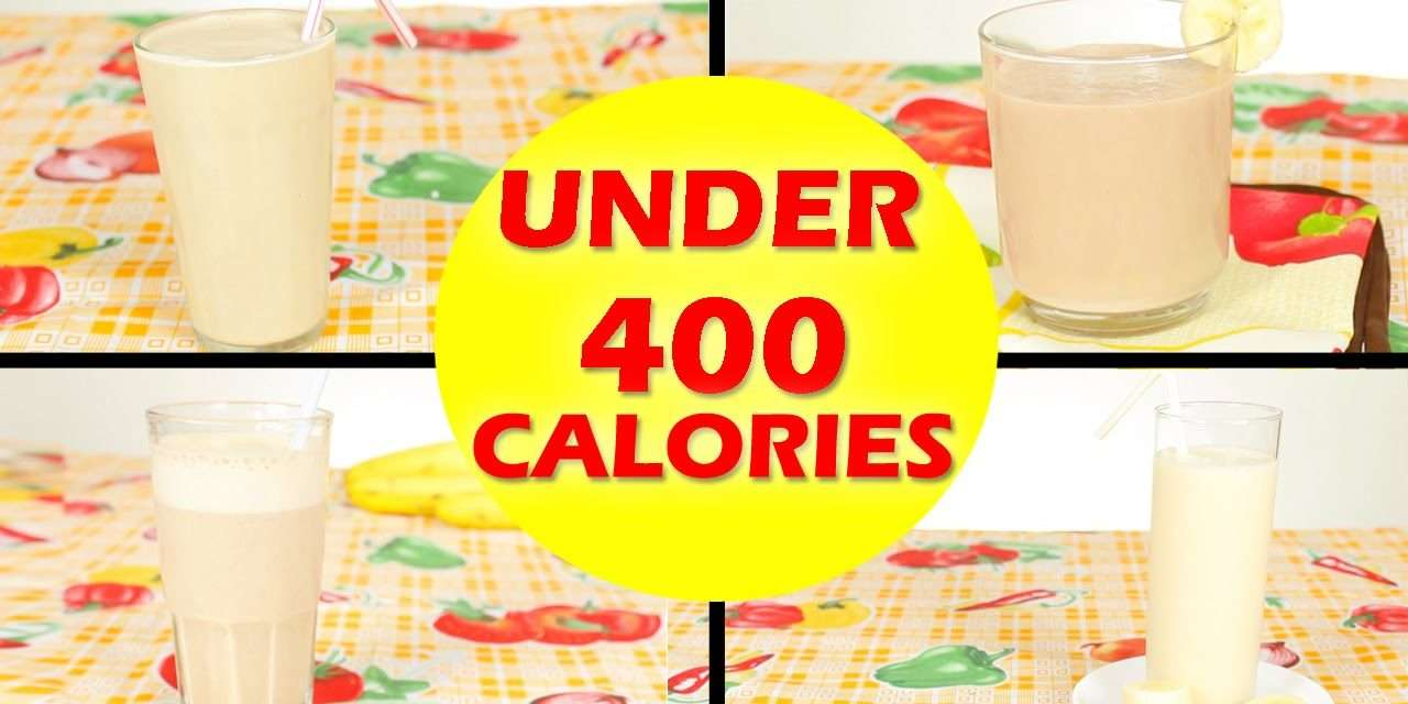 [4 Recipes] 4 Banana & Peanut Butter Smoothie Recipes – Healthy Smoothies For Weight Loss