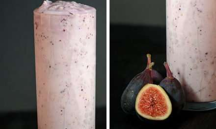 [Recipe] Almond Fig Beauty Smoothie