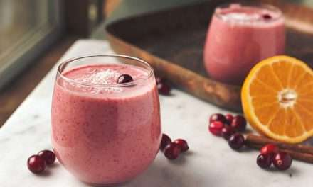 [Recipe] Cranberry Orange n Coconut Smoothie