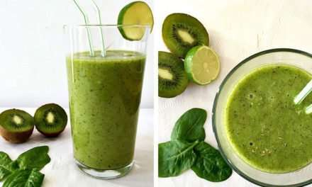 [Recipe] Kiwi Lime Cold-Busting Green Smoothie