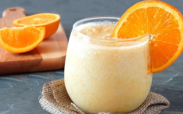 [Recipe] Orange Banana Yogurt Smoothie