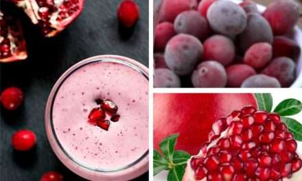[Recipe] Pomegranate Cranberry Sunflower Smoothie
