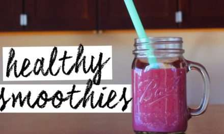 [RECIPE] 3 Favorite Super Smoothies for Weight Loss!