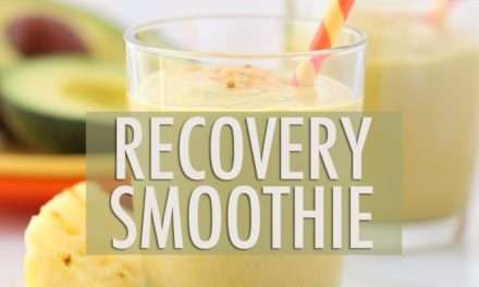 [Recipe] Golden Workout-Recovery Smoothie