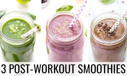 [Recipe] Post-Workout Recovery Smoothies