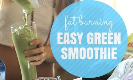 [Recipe-Video] Simple Diet Green Smoothie for Weight Loss