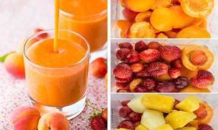 [Recipe] Strawberry Apricot Coconut Smoothie