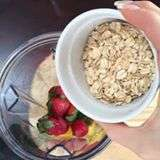 Strawberry Peanut Butter Smoothie – Adds Protein for Energy