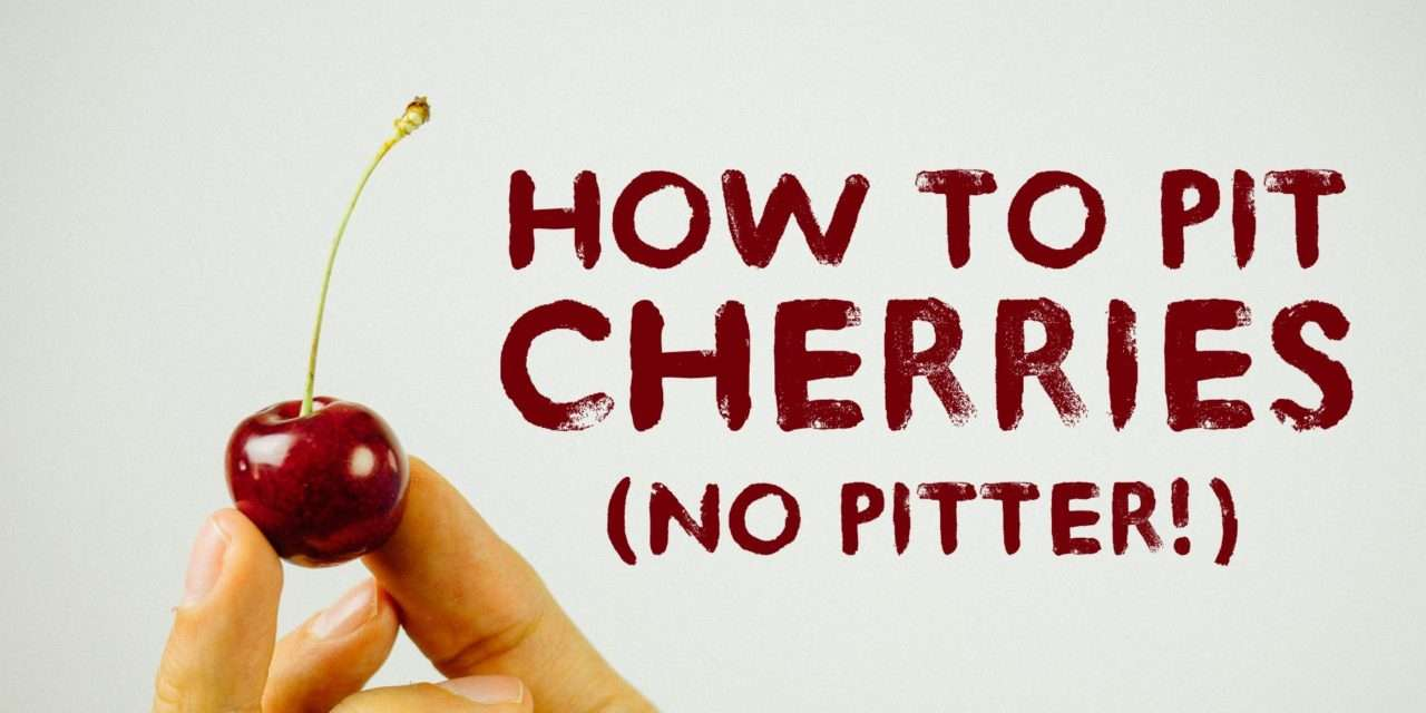[Tip] Easy Cherry Pitting for Juicers