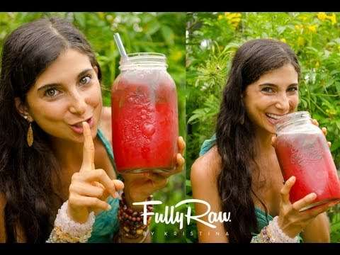 [V-RECIPE] Revealed – Kristina's Watermelon Juice Secret
