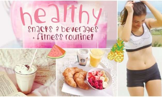 [VIDEO] 6 Fitness tips – Healthy Eating, Drinks & Exercise