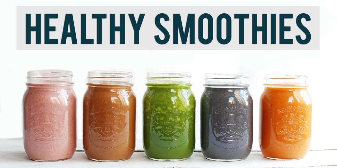 [Video Recipe] A Smoothie-a-Day Recipes for 5 Weekday Mornings