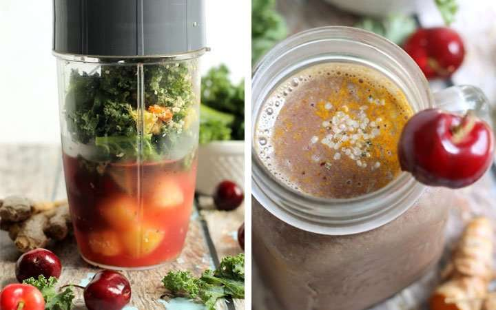 [Recipe] Pineapple Ginger Cherry Smoothie Helps Fight Inflammation