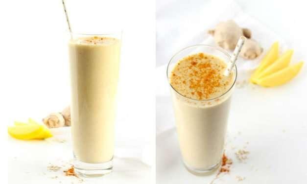 [Recipe] Cold-n-Flu-Busting Ginger Turmeric Mango Smoothie