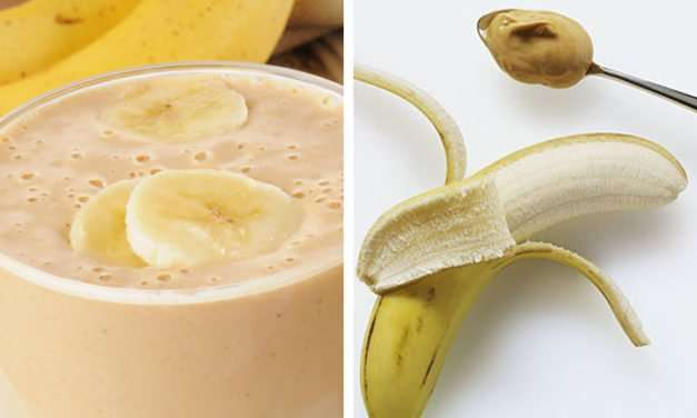 [Recipe] Weight Loss Program: Peanut Butter Banana Smoothie
